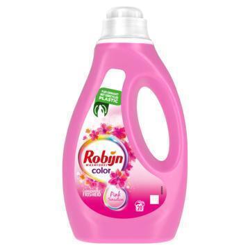 Robijn Vloeibaar Wasmiddel Color Pink Sensation 20 Wasbeurten (1L)