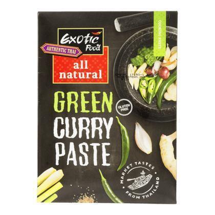 Groene curry kruidenpasta all natural (50g)