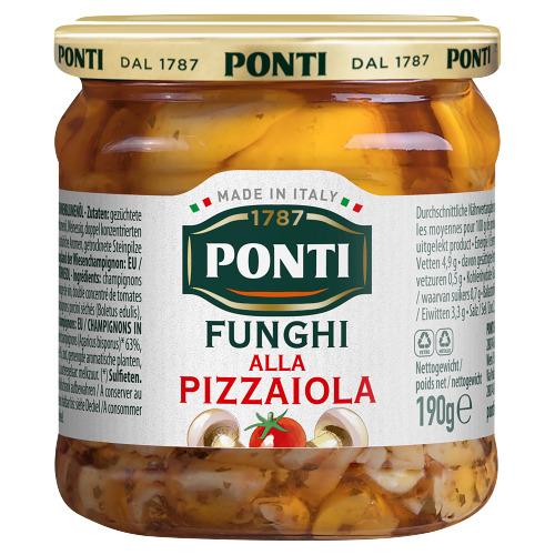 Ponti Funghi alla Pizzaiola 190 g (190g)