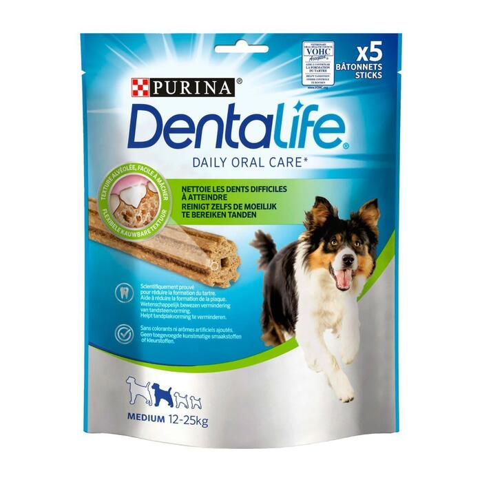Dentalife medium (Stuk, 5 × 115g)