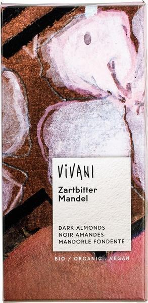 Chocoladetablet puur met amandel (100g)