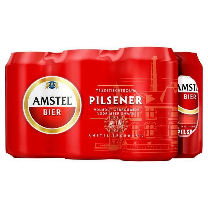 Amstel Pilsener (rol, 6 × 33cl)