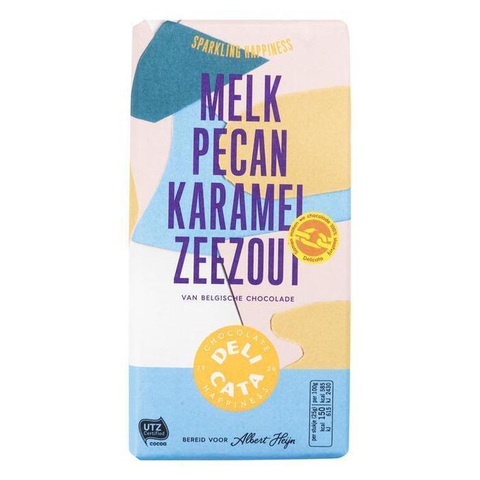 Delicata Reep melk - pecan - karamel - zeezout (180g)