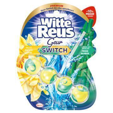 Witte Reus Toiletblok lavendel katoen (50g)