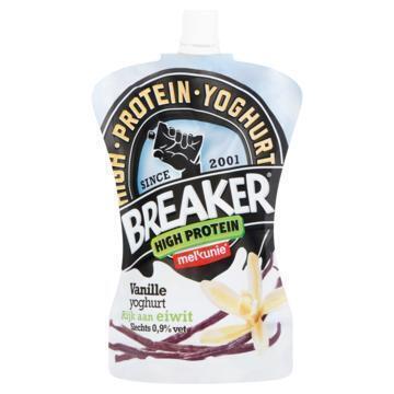 Breaker High Protein Vanille Yoghurt (knijpzak, 200g)