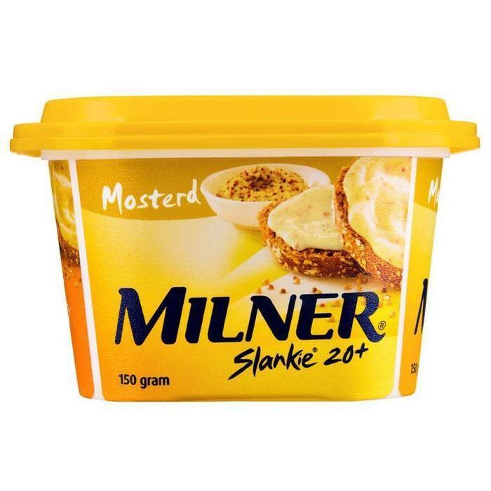 Slankie smeerkaas mosterd (150g)