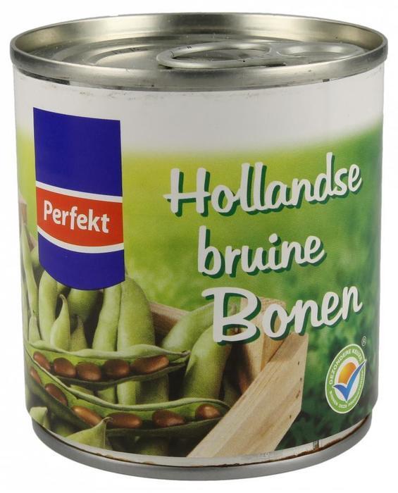 Perefekt, Hollandse Bruine Bonen (blik, 200g)