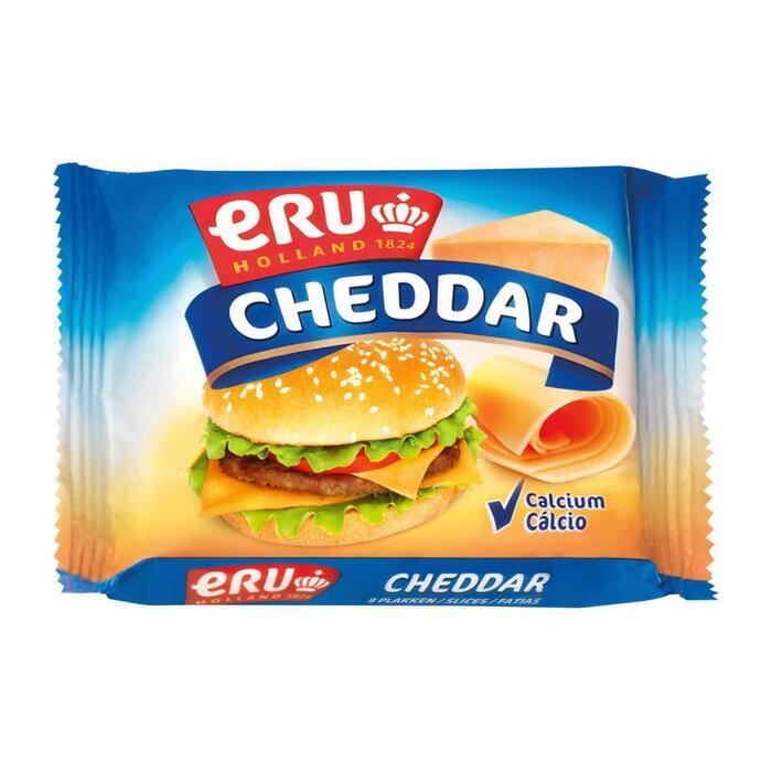 Eru Cheddar burger kaas plakken (150g)