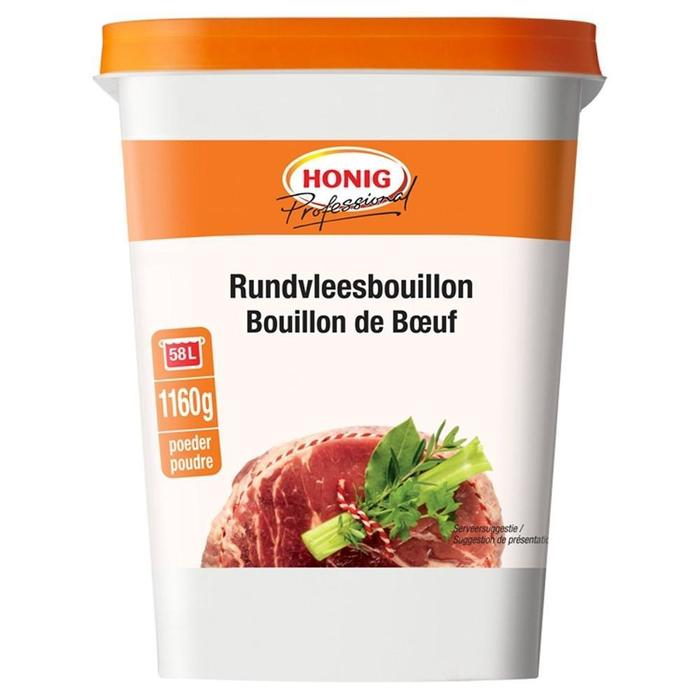 Honig Professional Rundvleesbouillon 1160 g Beker/kuipje (1.16kg)