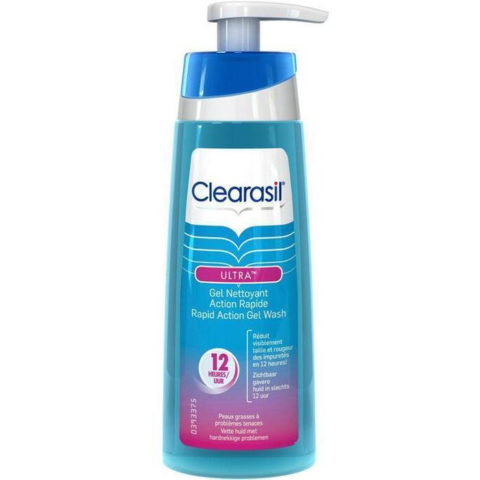 Clearasil Ultra rapid action gel wash (200ml)