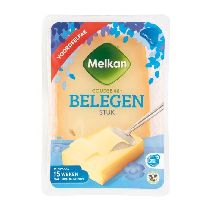 Melkan Belegen kaas 48+ stuk (910g)