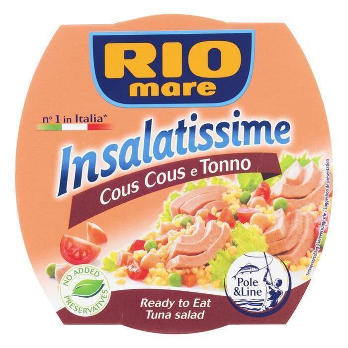 insalatissime cous-cous al tonno (blik, 160g)