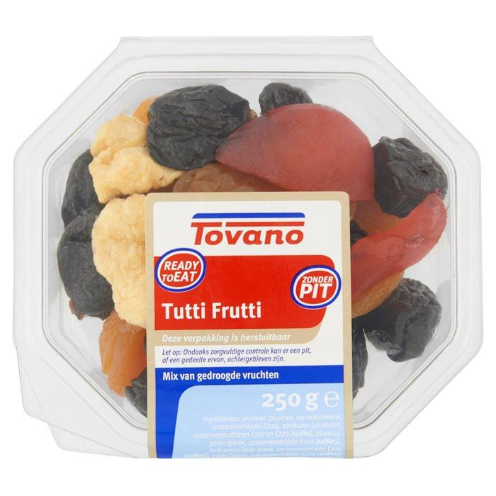 Tutti Frutti Mix van Gedroogde Vruchten 250 g (Stuk, 250g)