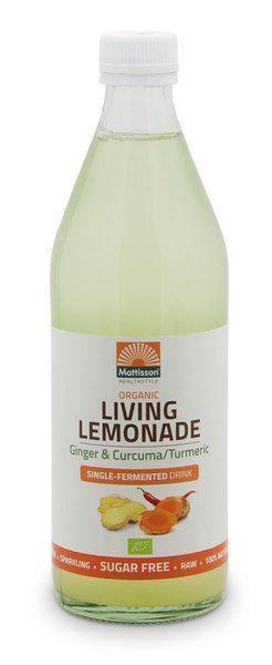 Limonade gember/kurkuma (0.5L)