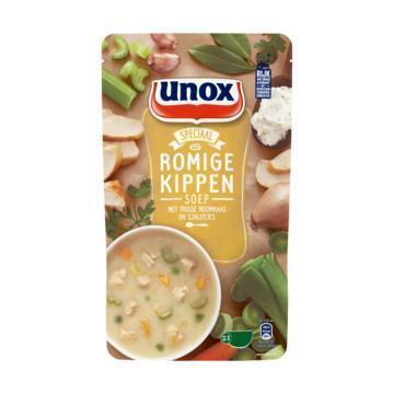 Unox Soep in zak romige kippensoep (0.57L)