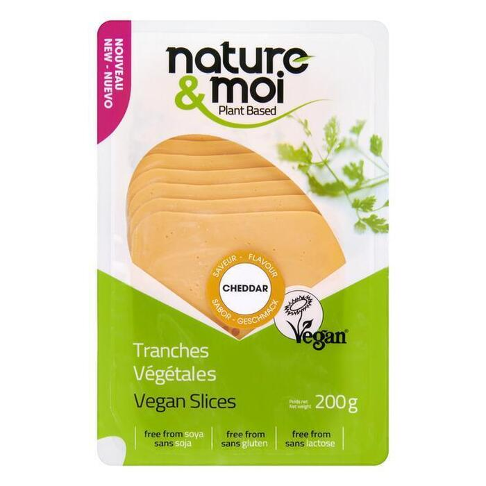 Nature & Moi Dairy Free Cheddar Flavour 200 g (200g)