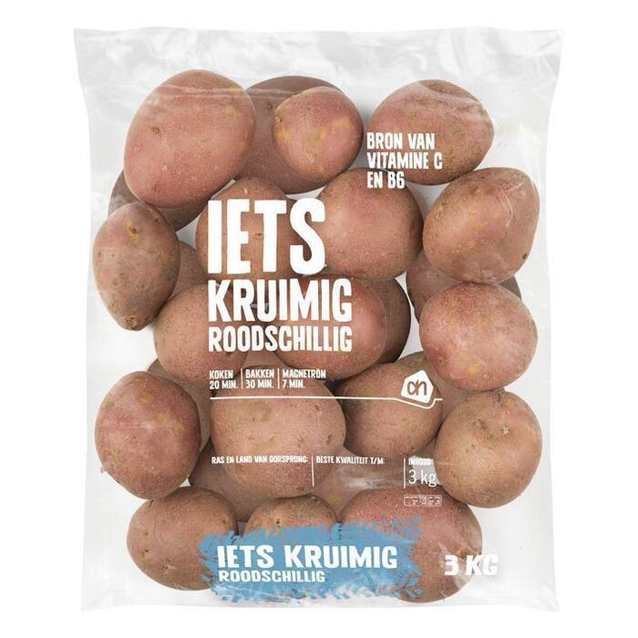 Roodschillige aardappelen (zak, 3kg)
