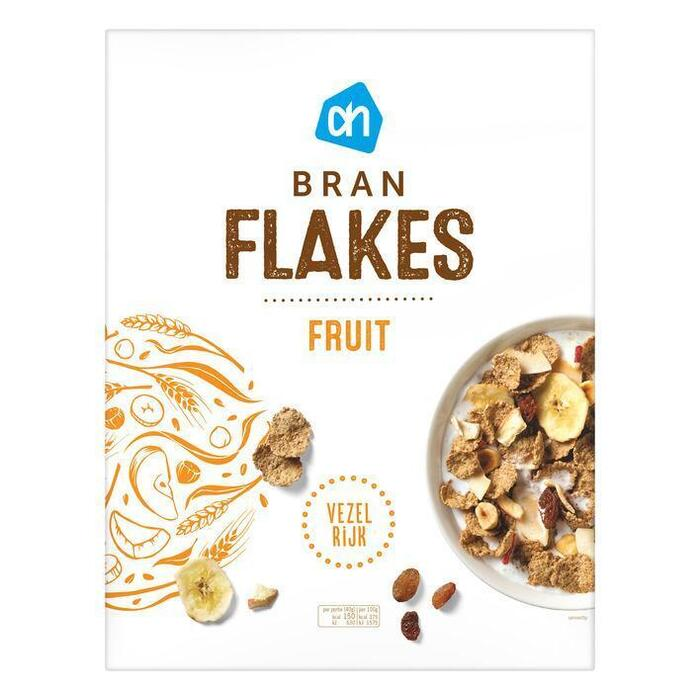 AH Fibre flakes & fruit (500g)