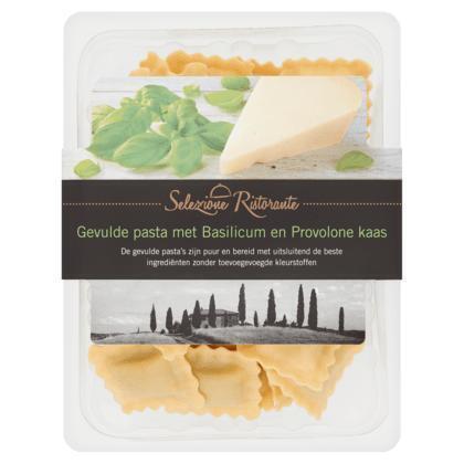 Selezione Ristorante Gevulde pasta basilicum en kaas (blister, 250g)