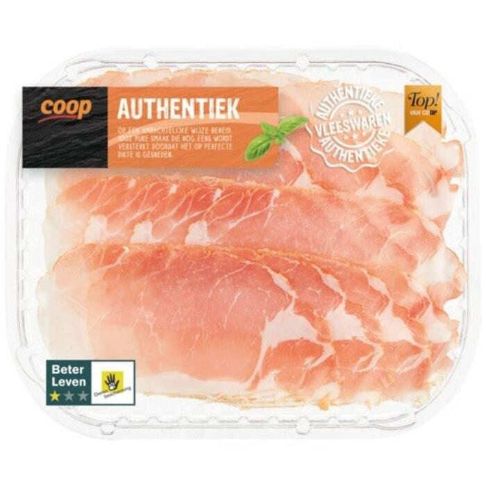 Authentiek Bacon 1 ster (110g)
