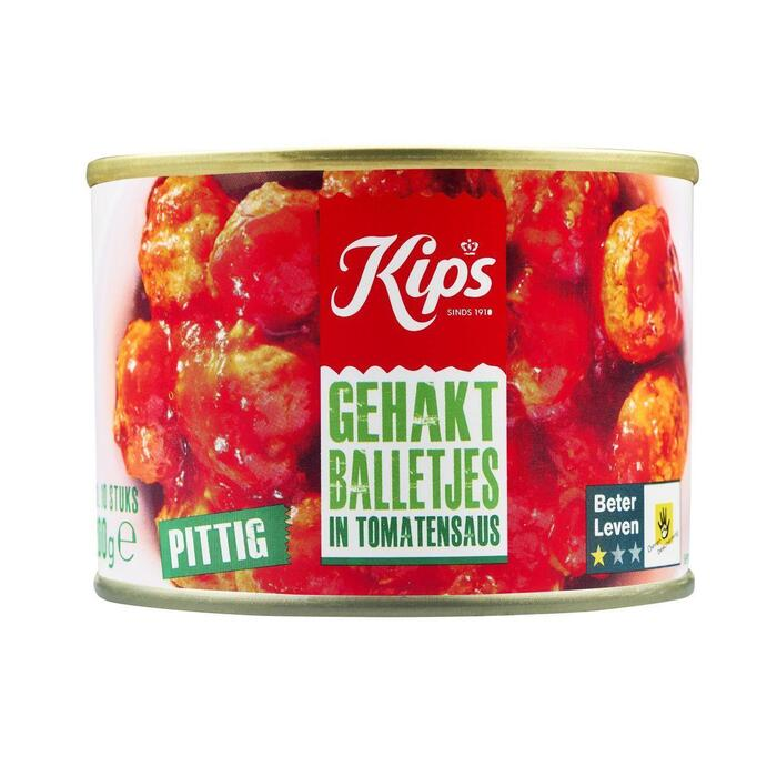 Kips Gehaktballetjes in tomatensaus (10 × 200g)
