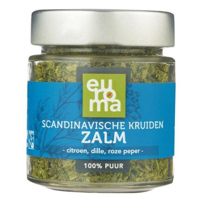 Euroma Scandinavische kruiden voor zalm (28g)