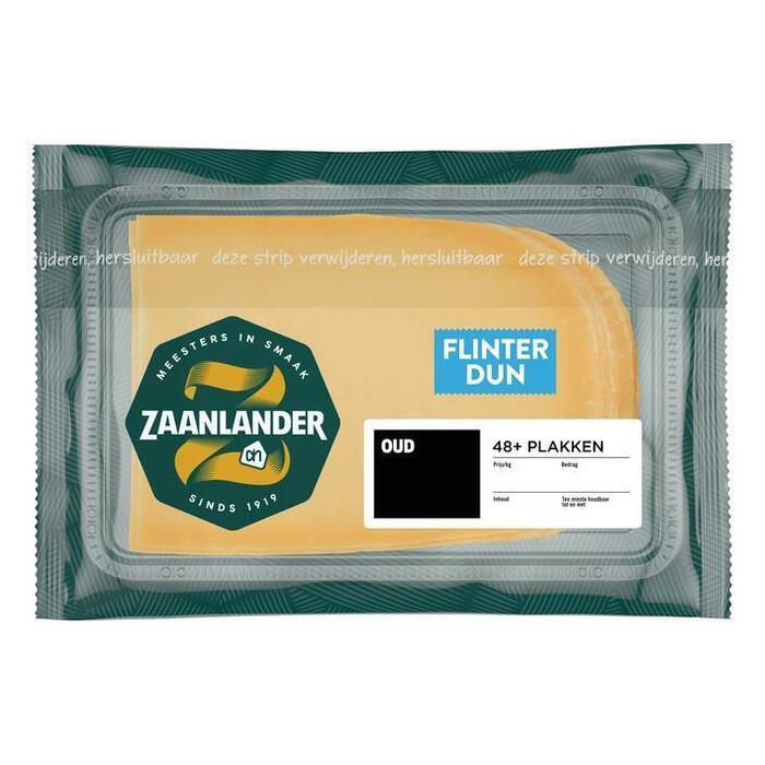 AH Zaanlander Zaanlander oud 48+ flinterdunne plakken (143g)