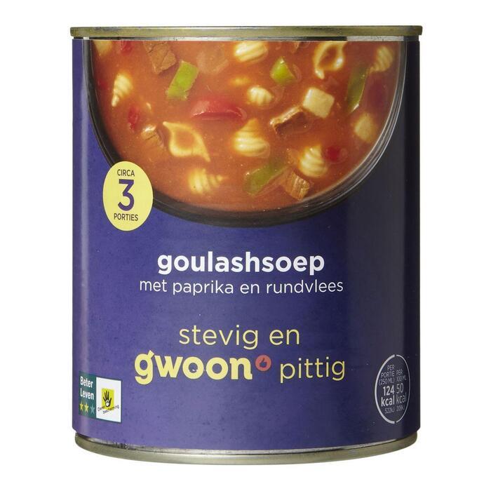 G'WOON Goulashsoep 800 ml (0.8L)