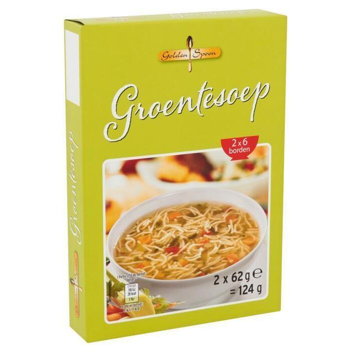 Golden Spoon Groentesoep 2 x 62 g (2 × 62g)