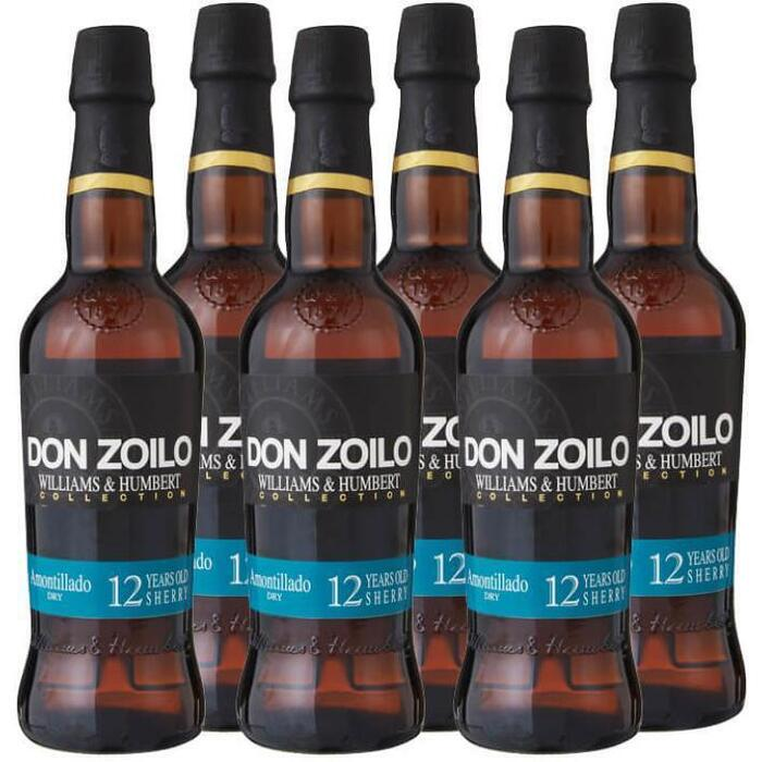 Williams & Humbert Don Zoilo Amontillado Dry (6 × 37.5cl)