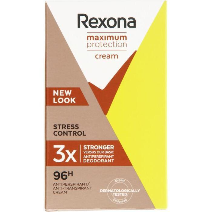 Rexona Cream Deodorant Max Pro Stress Control 45ml (45ml)