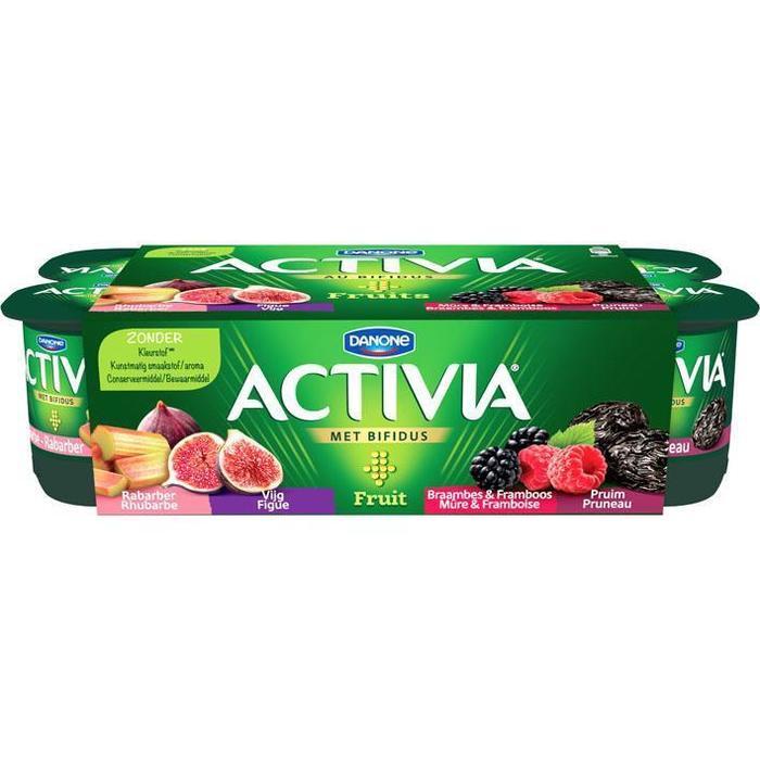 Danone Activia fruityoghurt assorti (8 × 125g)