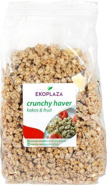 Crunchy haver kokos-fruit (500g)