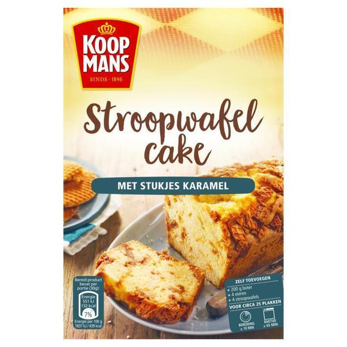 Koopmans Oud Hollandse Stroopwafelcake (400g)