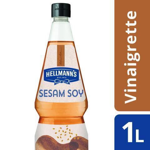 Hellmann's Sesame Soy Vinaigrette (fles, 6 × 1L)