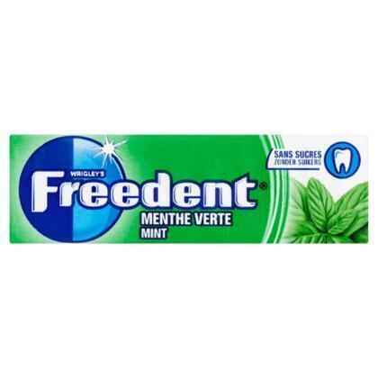 FREEDENT kauwgum mint (blister, 10 × 14g)