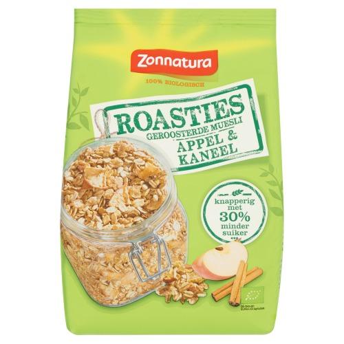 Zonnatura Roasties Appel Kaneel 300g (300g)