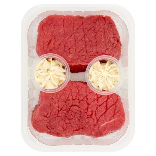 DEEN Rundvlees Biefstuk met Kruidenboter 2 Stuks