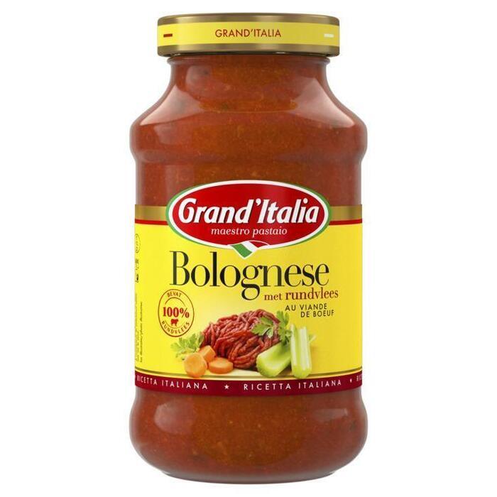 Bolognese met rundvlees (pot, 600g)