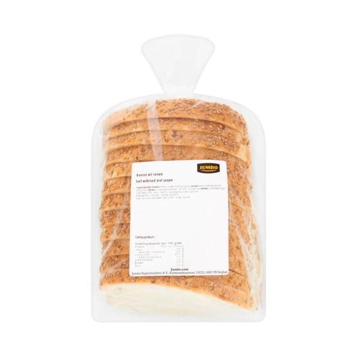 Jumbo Boeren Half Witbrood met Sesam