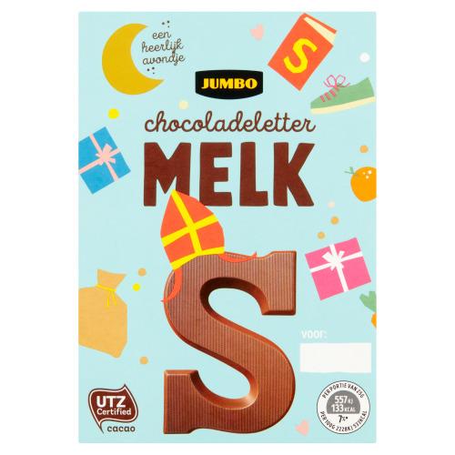 Jumbo Melkchocolade Letter S 65 g (65g)
