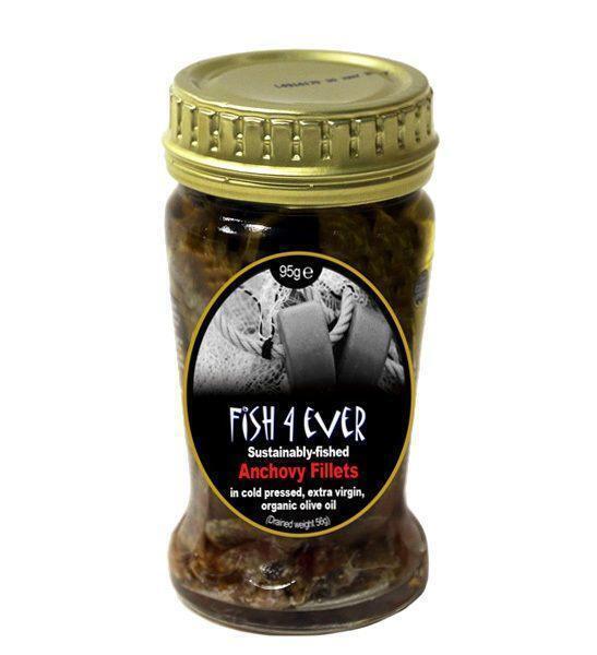Ansjovisfilet in olijfolie (pot, 95g)