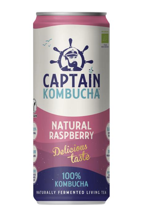 The Gutsy Captain Kombucha Raspberry 250 ml (250ml)