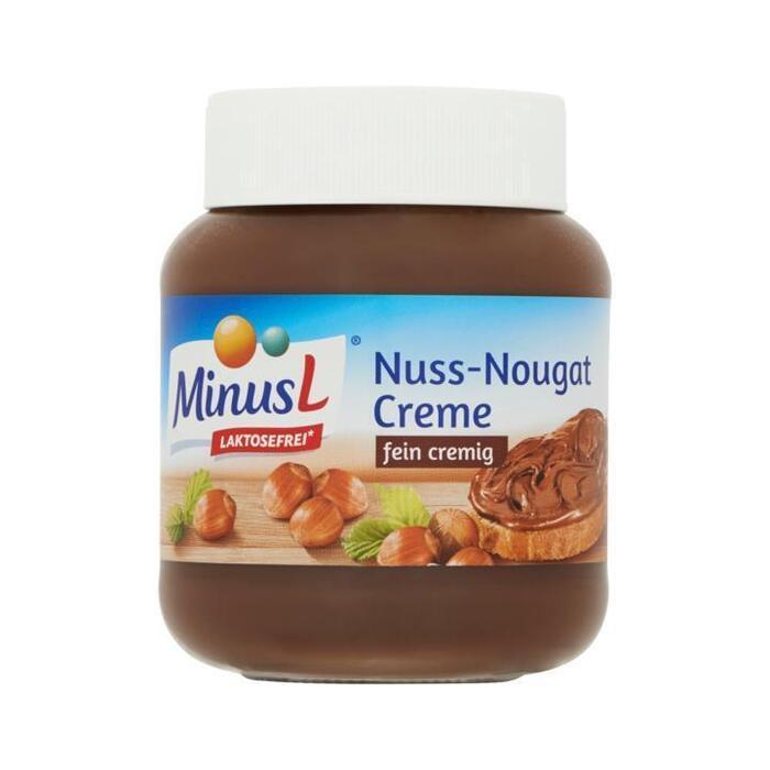 MinusL Nuss-Nougat Creme (pot, 400g)