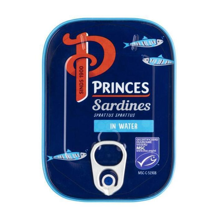 Sardines in water (blik, 110g)