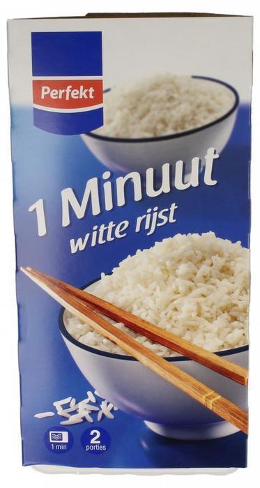 1 minuut witte rijst 2x 150 gram (2 × 300g)