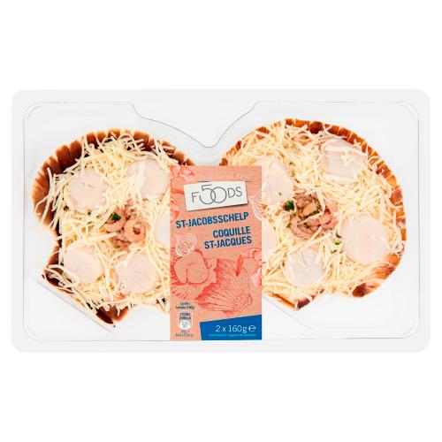 FOODS St-Jacobsschelp 2 x 160 g (160g)