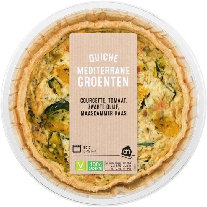 AH Quiche Mediterrane groente (300g)