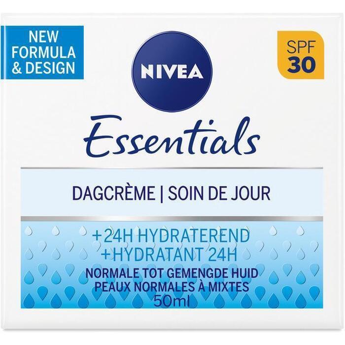 Nivea Essentials hydraterende dagcreme SPF 30 (50ml)