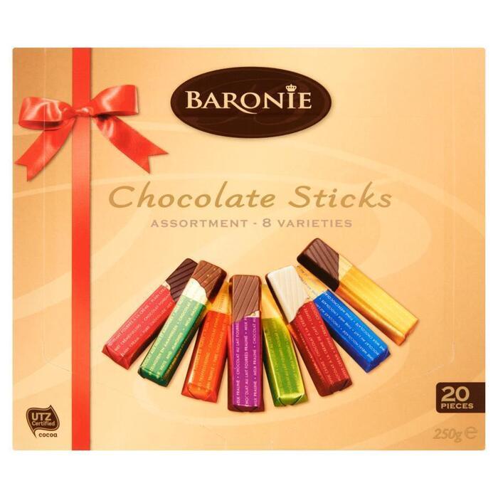 Baronie Mixed sticks assorti (250g)